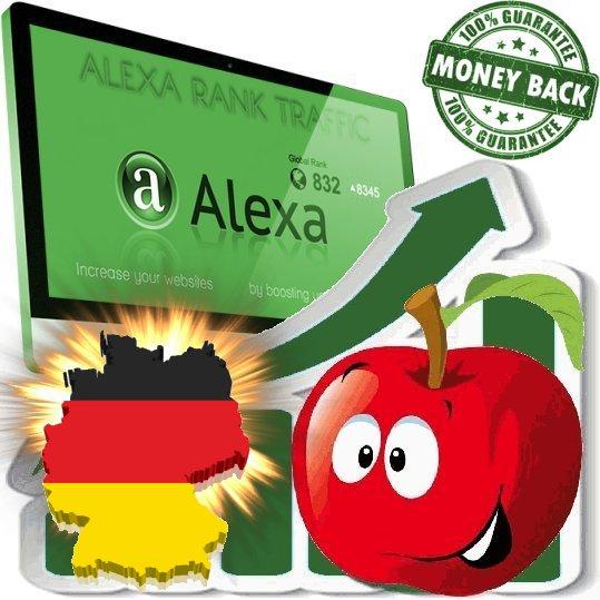 Increase your German Alexa Rank Deutschland