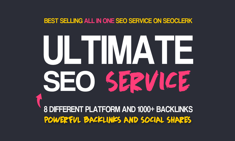 All In One Ultimate SEO Service