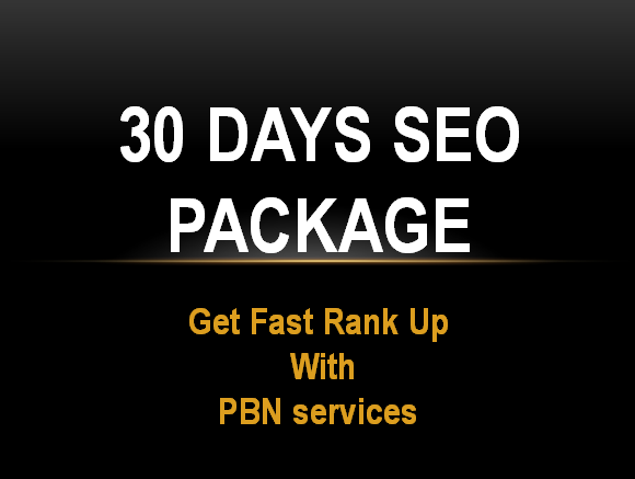30 Days SEO Link building daily White Hat SEO Package...