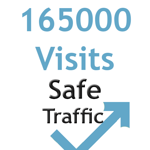 5500 daily visits web traffic for 30 days