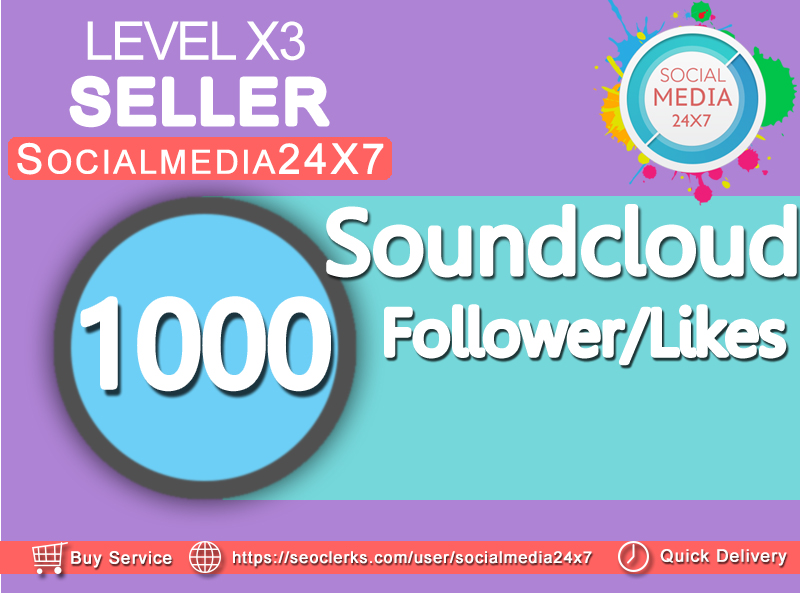 get 1000 soundcloud likes/follower/repost within 24-48hrs