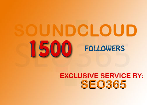 1500 SOUNDCLOUD FOLLOWERS