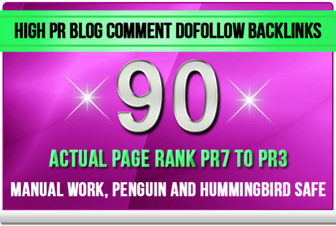 Make 90 SEO Blog Commenting Backlinks Pr2 to Pr6 For AduIt Web