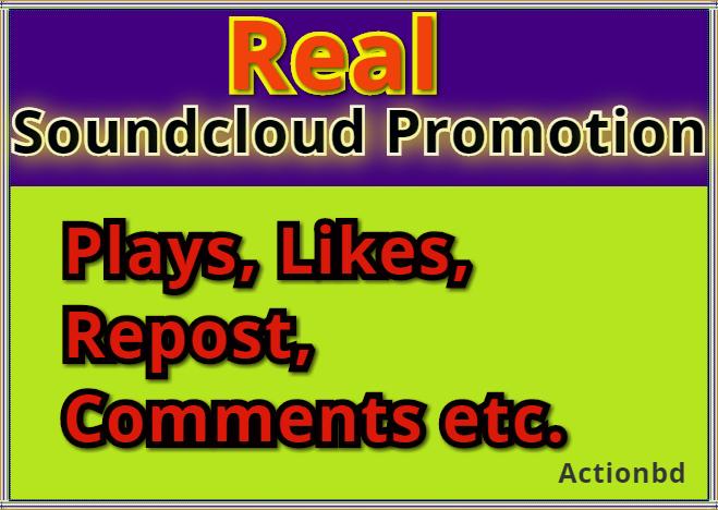 Free 50++ Likes  ADD 100,000 100k Soundcloud Play 24 hours