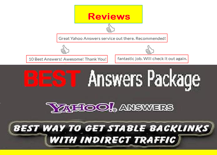 Promote Website in Yahoo Answers with Live URL