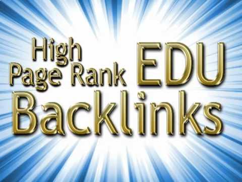 Provide 800 Edu backlinks using blog comments