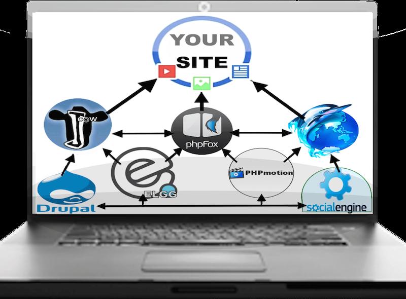 150 Multi-Platform Social Network Backlinks from: Elgg, Jcow, PhpFox, PhpDolphin, Drupal, PhpMotion, + SocialEngine