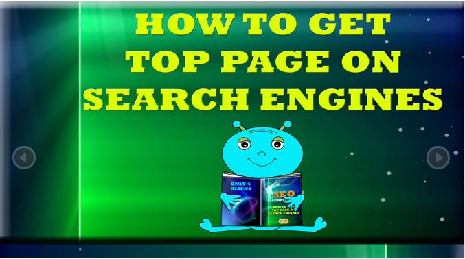 top page with SEO in 1 Day