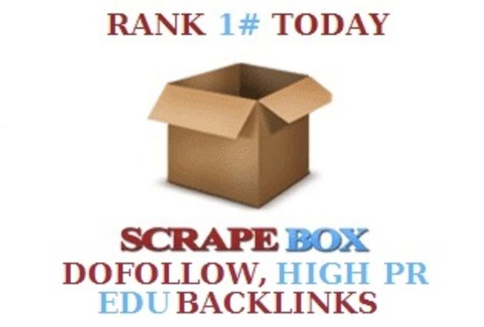 create 1500+ dofollow,  1500+ high PR and 300 edu gov blog comments