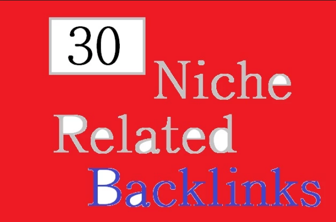 I will provide 30 niche related quality comment backlinks