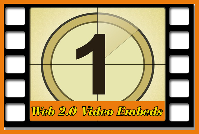 Get your youtube video embed into 25 web 2.0 blogs