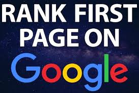 I Will Rank Your Website First Page Of Google
