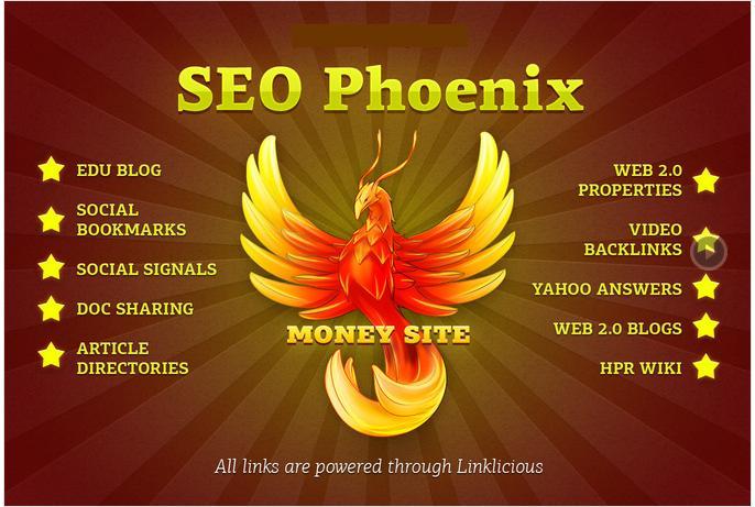 I will do high pr Backlink Pyramid,  SEO Phoenix