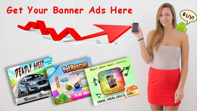 Blast out your Big Banner ads for 24 hours to thousands of android users