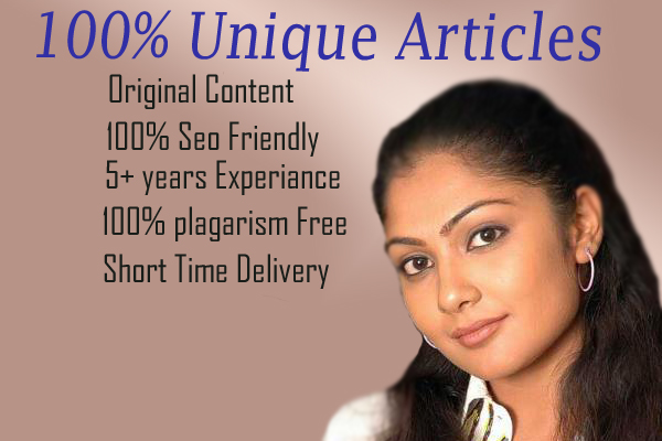 Quality Article Writing Services