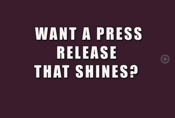 I will write 300 word press release that rocks and di...