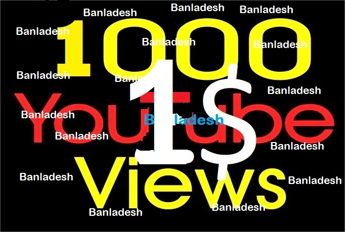 1000+ Youtube Vie ws with non drop