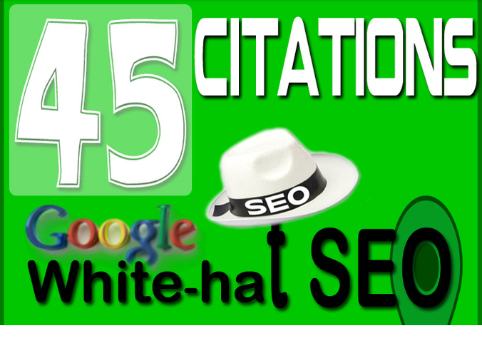 create 45 local citation and KML to boost Google places website rank