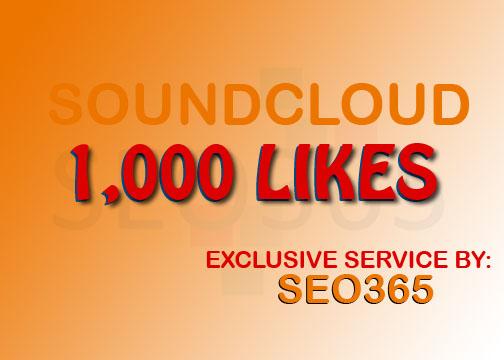 1000 SOUNDCLOUD LIKES