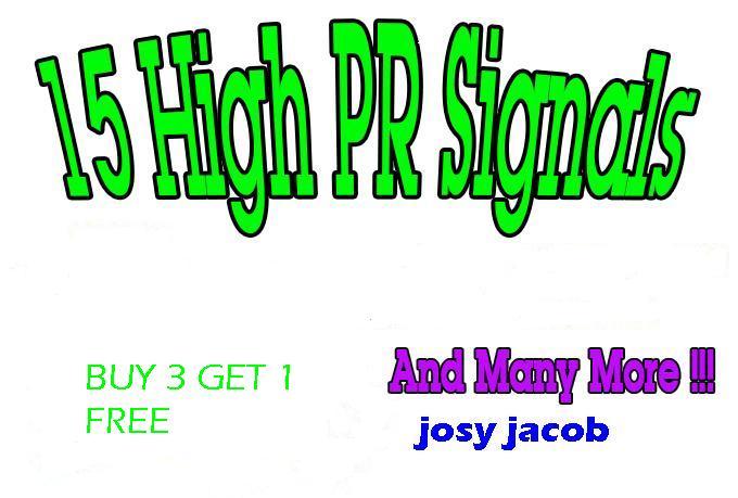 30 Edu and Gov+10 High PR Links from PR4 to PR7 Social Bookmarking Sites