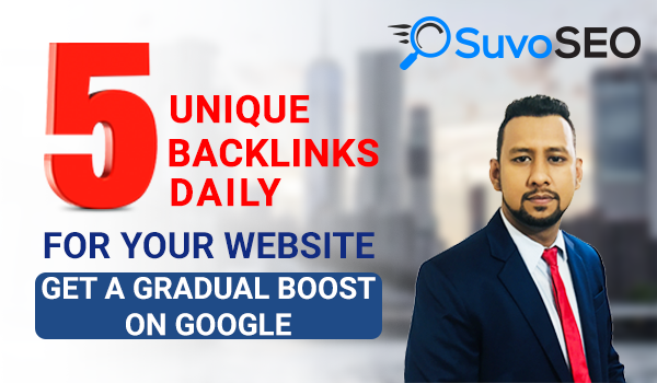 DAILY 5 AGGRESSIVE UNIQUE HIGH AUTHORITY BACKLINKS AND 5 COMMENT BACKLINKS!! (30 Days)