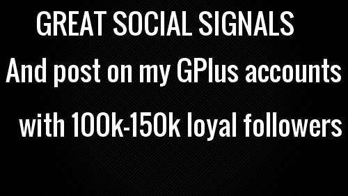 GREAT 10000+ SOCIAL SIGNAL power full link building