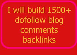 build 1500+ dofollow blog comments backlinks../*/..