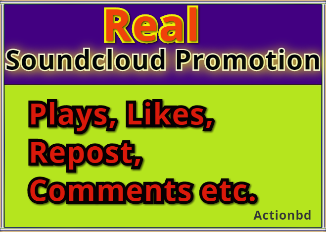 Free 35 Comments ADD 200,000 200k Soundcloud Play 1000 Followers 1000 Likes 233 Repost GOOD QUALITY