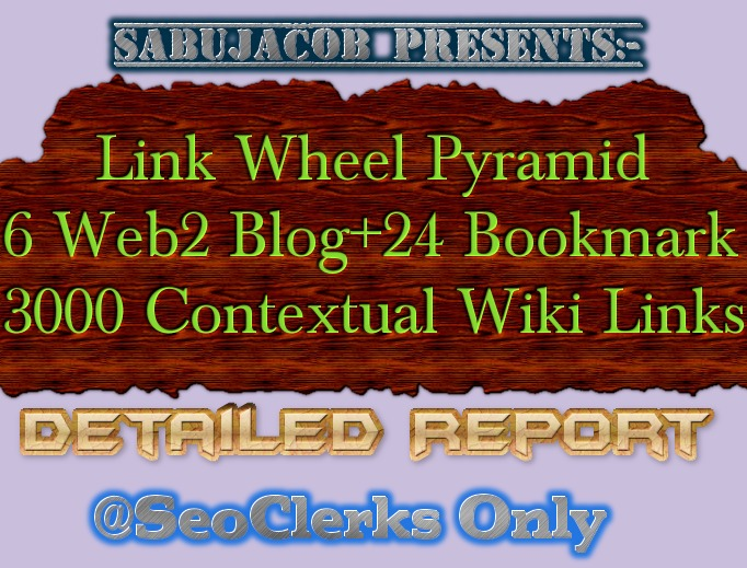 Seo Link wheel Pyramid best for Website Blog YouTube Video