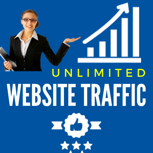 I Will Get You Real Visitor for Your Website 1 MONTH  Social Media Traffic
