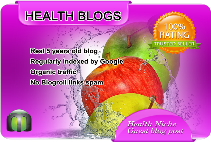 Write and Publish Health Guest Post on a nice HEALTH ...