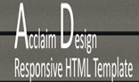 Acclaim Responsive HTML Template