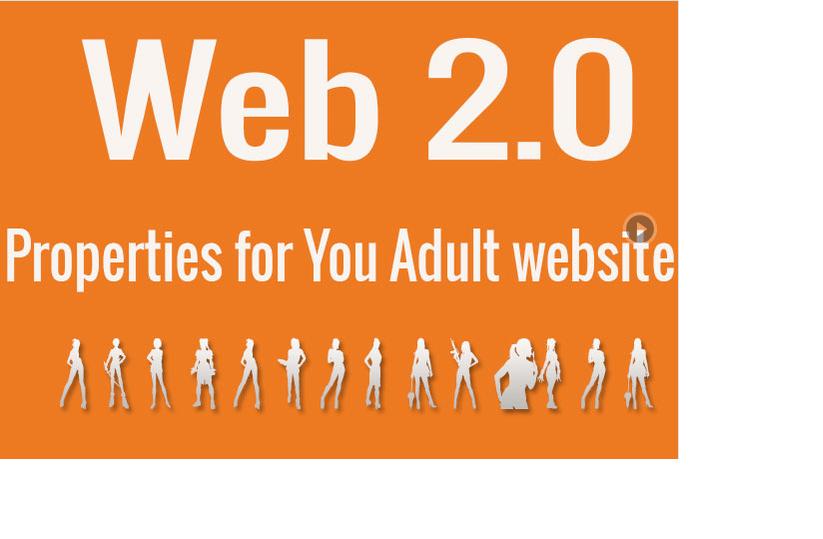 do 12 high PR web 20 properties for Adult websites