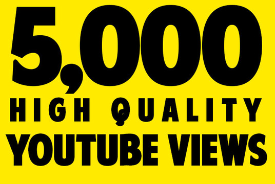 Give You 5099+ NON Drop + Splitable Youtube Views