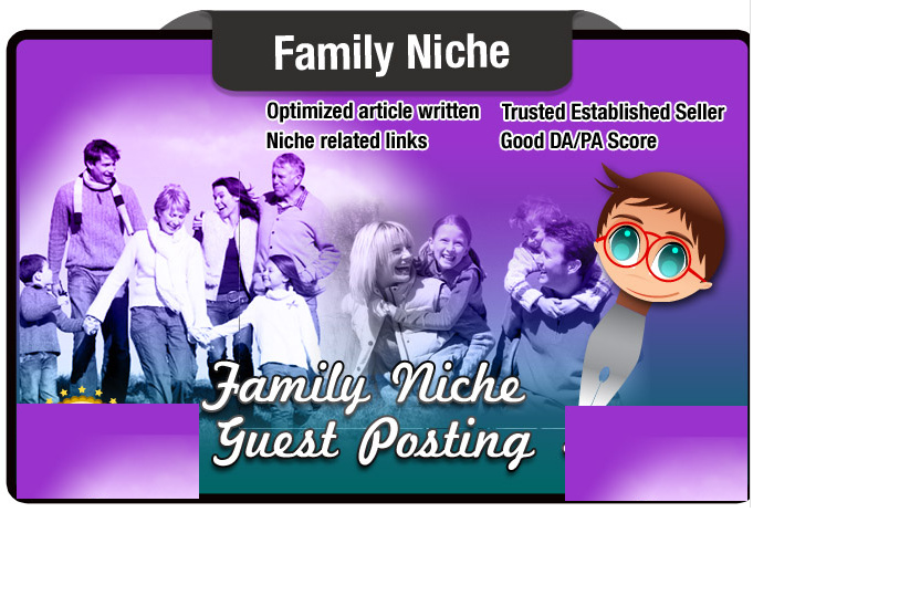 guest Post a Family Education Article on a Seo Optimi...