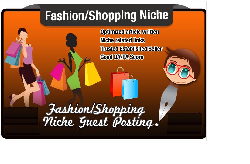 write and Blog Post a FASHION Niche Seo Optimised Art...