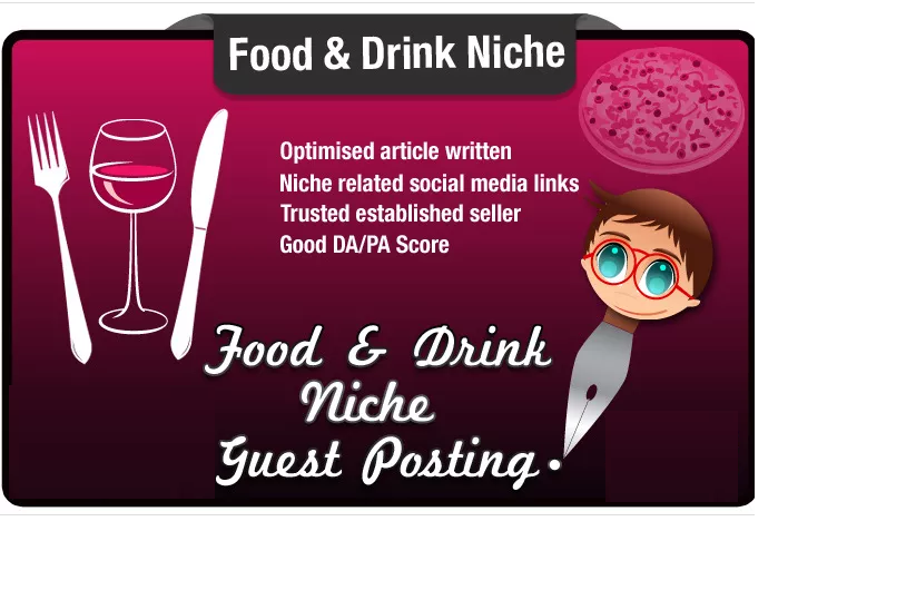 write and Post a Guest Post on a High Quality Food an...