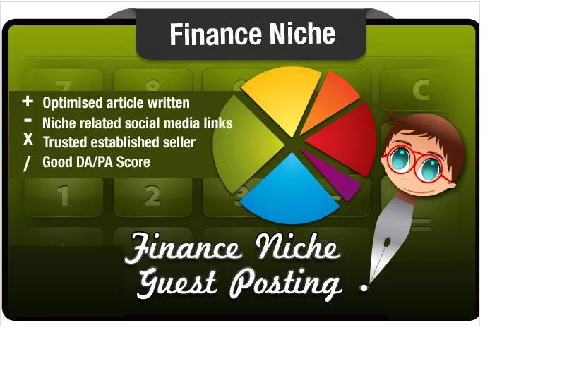 write a Guest Post on a SeoMoz DA29 PA40 Finance Nich...