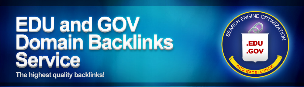 Build 50 edu and gov links + Ping