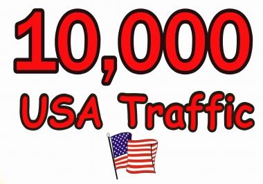 I will PROVIDE YOU GUARANTEE 10,000+ USA IE TRAFFIC T...