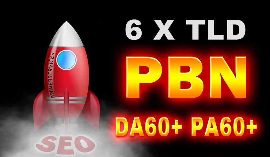 6 High Authority PBN Contextual Backlinks On PA 60+ T...
