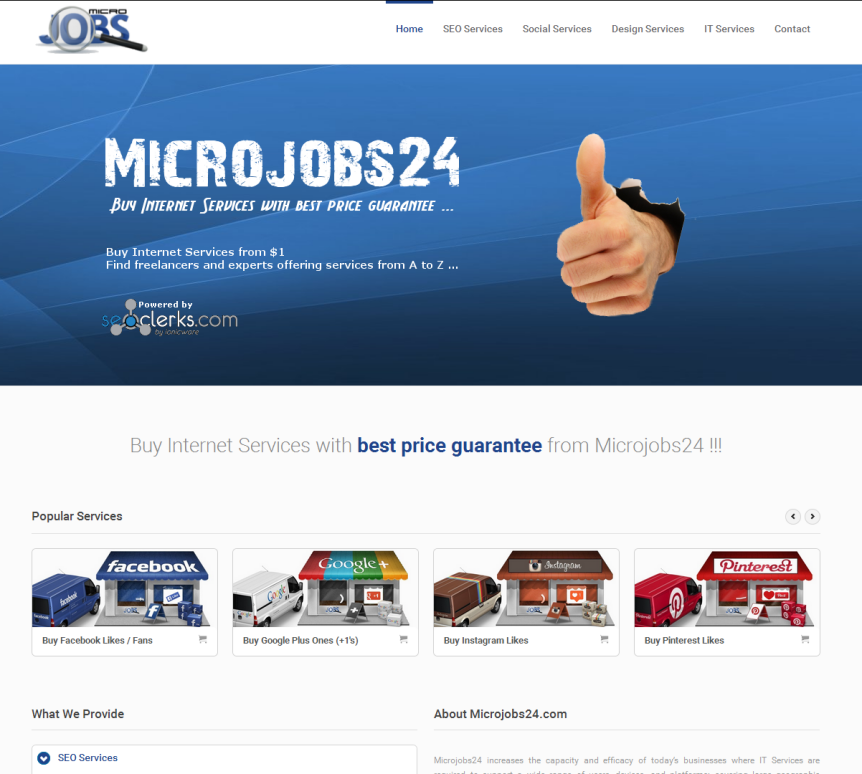Your Service on Microjobs24. com