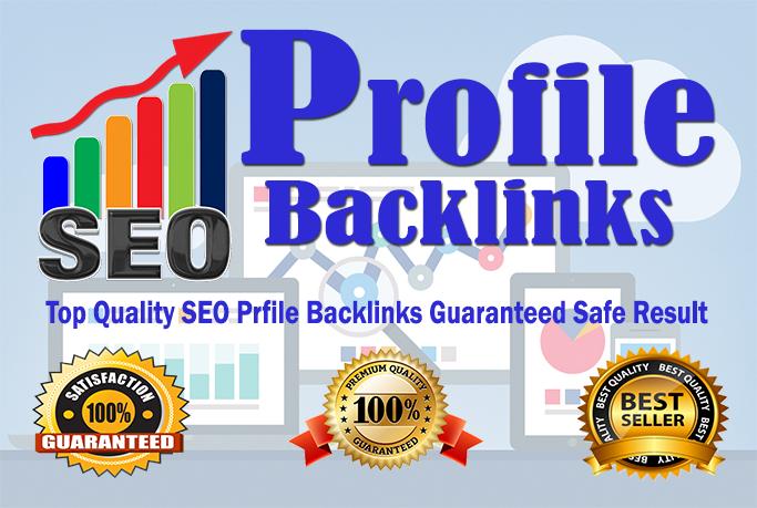 Create Manually Seo 30 Profile Backlinks For Authority Domains