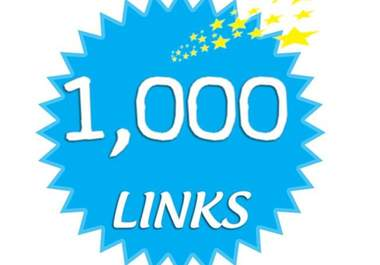 make 1000 high quality backlinks