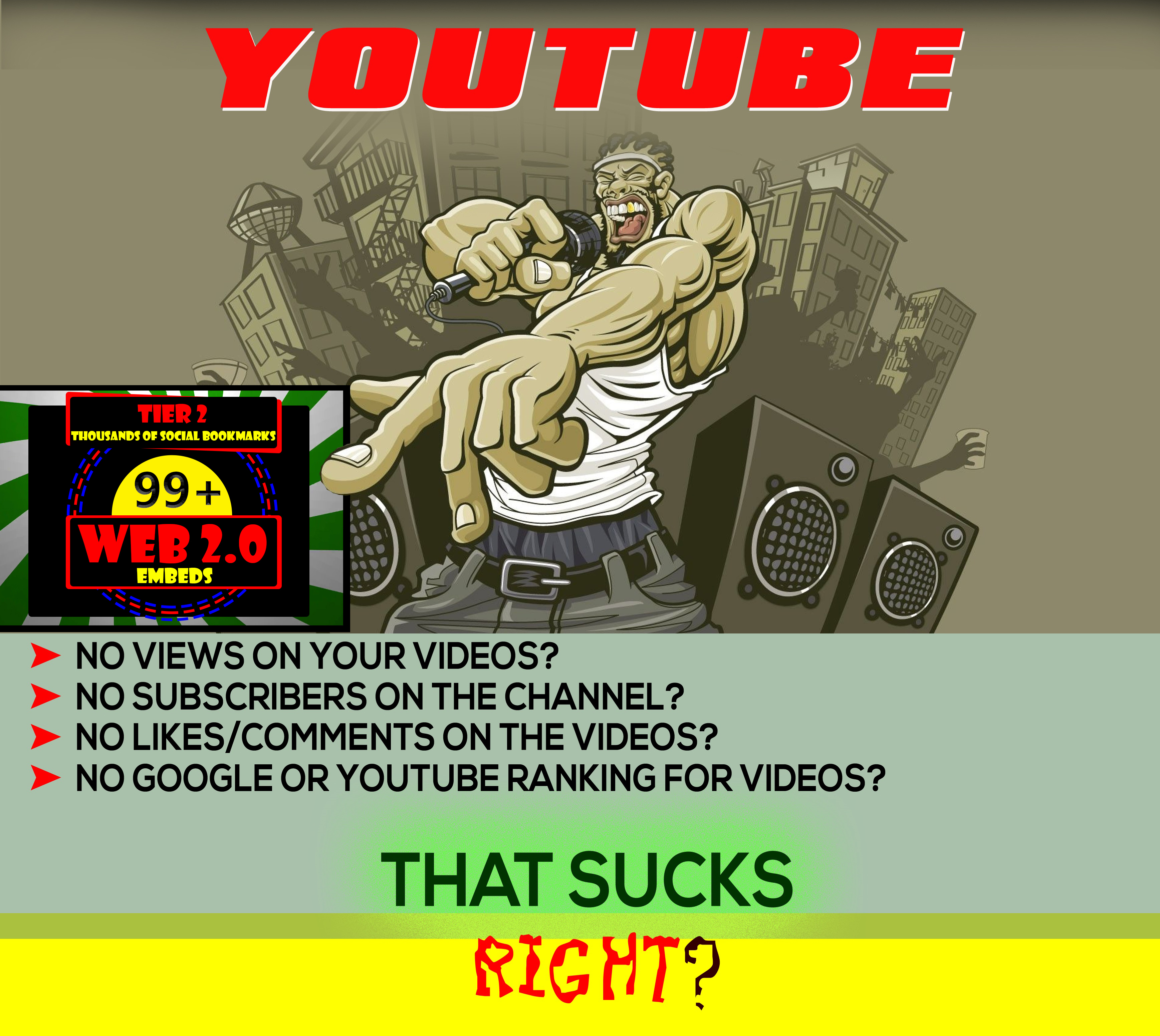 Embed your YouTube VIDEO in 99 Blogs + Tier 2 Bookmar...