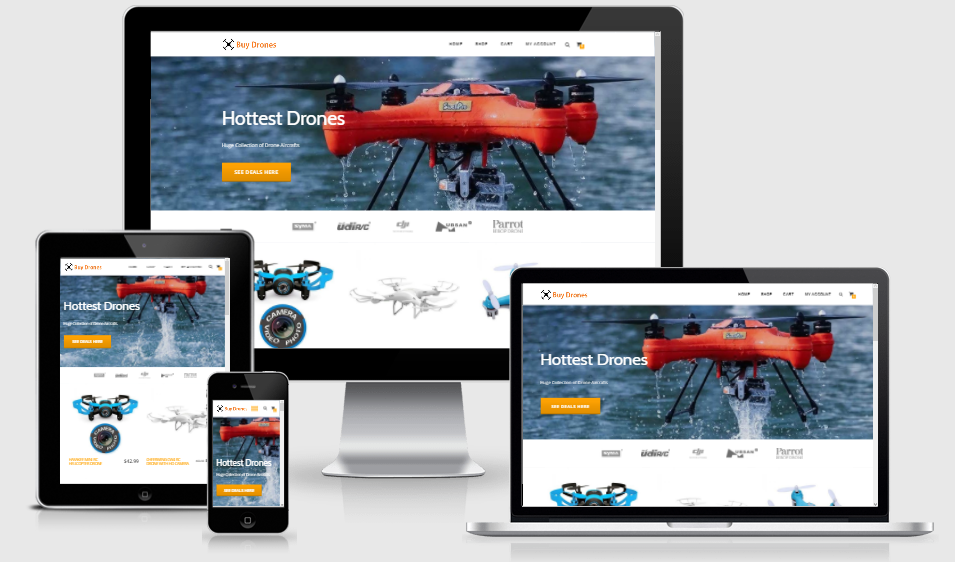 FLYING DRONES Website FREE Domain FREE Hosting FREE Traffic