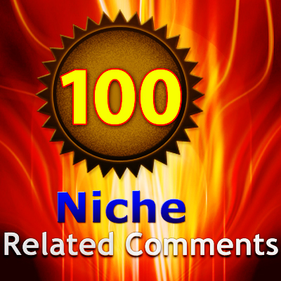 provide 100 Manually Created NICHE or KEYWORD RELATED Blog Comment Backlinks
