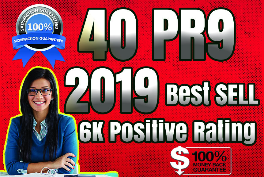[Best Sell-2018]- I will manually do 40 PR9 Safe SEO High Pr Backlinks 2019 Best Results