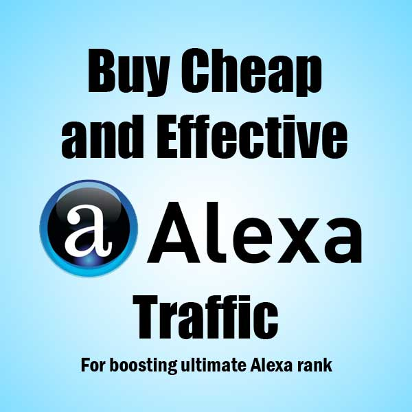 1000 real and human Traffic from Alexa. com with in 24-48 hours