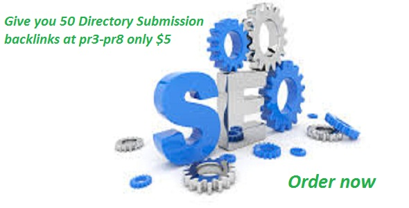 Give you 50 Directory Submission backlinks